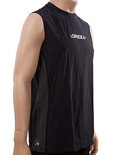 O'Neill men's 24/7 Tech Sleeveless Crew (including Big & Tall sizes) Men's XXL Black/graphite (4248)