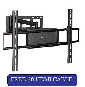 compatible articulado Vizio/Soporte de pared amplía una 25in y 182,88 cm cable HDMI!
