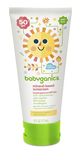 Babyganics 50 Spf Sunscreen Lotion, 6 oz - 1
