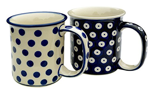 bunzlauer-keramik-manu-faktura-geradex2-mug-set-2-mugs-droite-bleu-cobalt-84-cm-2-unites