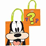 Disney Goofy Full Face Tote Bag