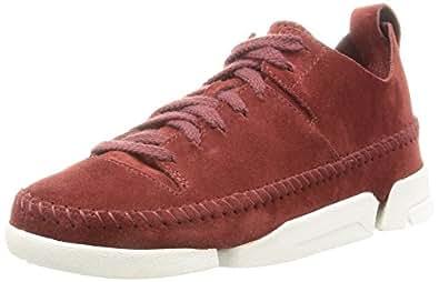 Clarks Women's Trigenic Flex. Brown Sneakers - 4 UK/India (37 EU)