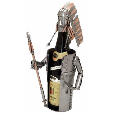 Indian Chief Wine Bottle Holder
