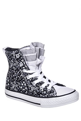 Girls' Party Star Print All Star Chuck Taylor High Top Sneaker