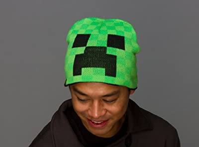 Minecraft Creeper Laplander Beanie Hat Large Xl Official Product From Mojang from MINECRAFT