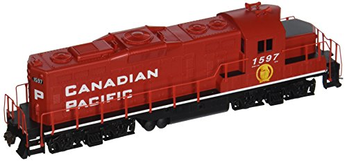 Walthers Trainline Diesel EMD GP9M Ready to Run Canadian Pacific #1597 (Red, White, Golden Beaver Logo on Cab) (Ho Scale Canadian Pacific Engine compare prices)