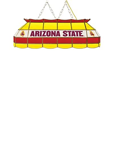 "Trademark Global 40"" Arizona State University Stained Glass Tiffany-Style Pendant Lamp"
