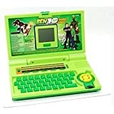 Kohima- Ben10 Learning Laptop With 20 Activities (Green)