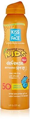 Kiss My Face Kids Defense Continuous Spray SPF 50 6 Ounce