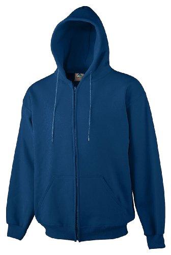 Augusta Big Boy's Heavyweight Zip Front Hooded Sweatshirt
