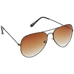CraftCor Aviator Round sunglasses (Brown)(PT-2)