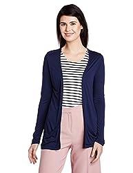 People Women's Blouson Jacket (P20401116076239_Navy_X-Large)
