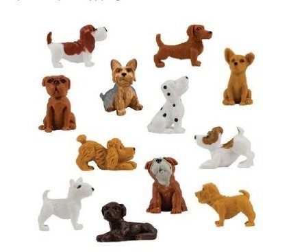 Adopt a Puppy Series 4 - Set of 12 Vending Machine Toys (Vending Machine Puppies compare prices)