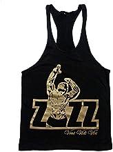 Zyzz oficial Camiseta Tirantes Stringer Chaleco de entrenamiento de espalda cruzada Y-back Veni Vidi Vici