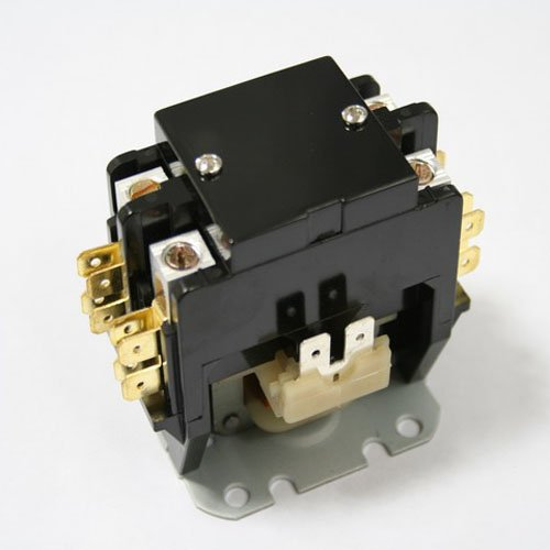 Replacement for Goodman Double Pole / 2 Pole 40 Amp 24v Condenser Contactor Relay B13603-05