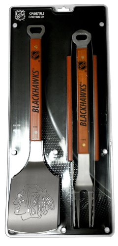 NHL Chicago Blackhawks Sportula 3-Piece BBQ Set