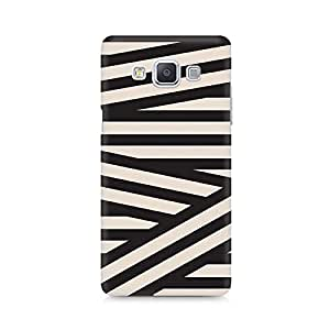Ebby Criss Cross Premium Printed Case For Samsung A7