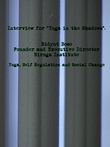 Yoga, Self Regulation and Social Change