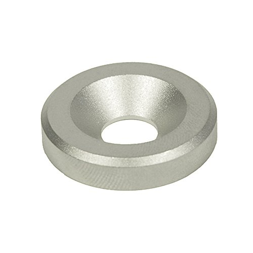J.W. Winco 6341-NI-4-10-B-MT GN6341-NI Washer with Bore for Countersunk Screw, 4 mm Bore, 10 mm OD, 2.5 mm Thickness, Stainless Steel (10mm Washer Stainless compare prices)