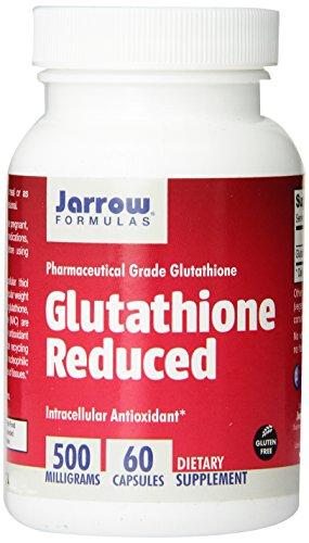 Jarrow Formulas Reduced Glutathione, Supports Liver Health, 500 mg, 60 Veggie Caps