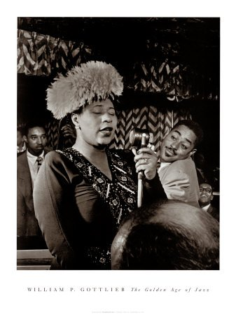 Ella Fitzgerald Art Poster Print by William P Gottlieb 18x24B0000VXQ3M : image