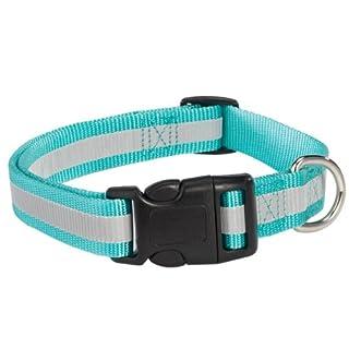 Guardian Gear Reflective Dog Collar, 14-20-Inch, Blue