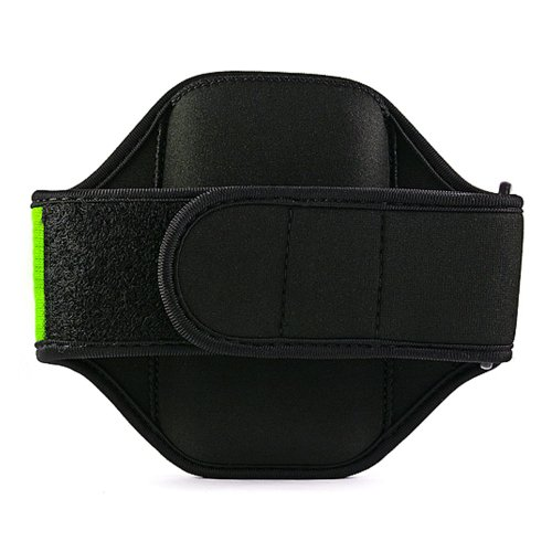 Quality GREEN HTC Amaze 4G (T-Mobile) SmartPhone Armband with Sweat Resistant Lining for HTC Amaze 4G Android Phone + Live * Laugh * Love VanGoddy Wrist Band!!!