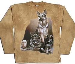 German Shepherd Dog Sweater 100% Cotton Size XXL by Tashuunka