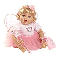 Paradise Galleries Beautiful Fairy Realistic Lifelike Baby Doll – Tooth Fairy Wishes, 21 inch in…