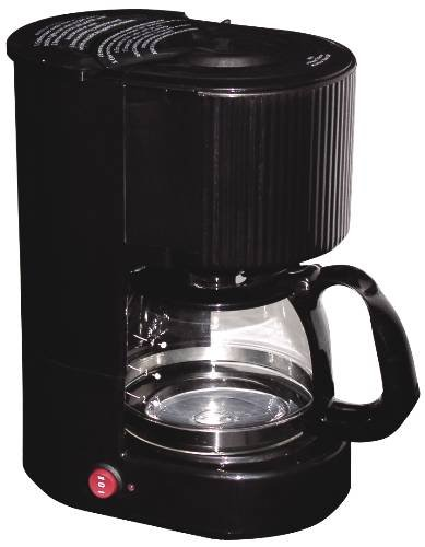 National Brand Alternative 632602 Coffee Maker 4-Cup Black