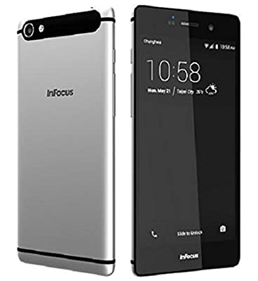 InFocus M808i - Mysterious Silver, 16 GB (4G VoLTE)