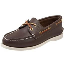 Sperry Top-Sider Women\'s Authentic Original 2-Eye Boat Shoe,Brown,10 S US