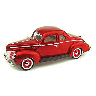 Amazon.com: MotorMax 1940 Ford Deluxe Coupe Die-cast 1:18