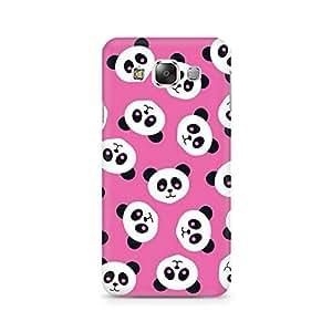 Ebby Panda Love Premium Printed Case For Samsung E7