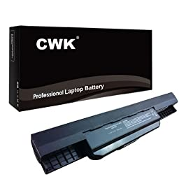 CWK® 7800mAh 9 Cell New High Capacity Battery for ASUS X44C X44H X44L X84C X54C X54LY A53SC A53SK A53SV X43 A32-K53 X53E, X53SV,X53U,X53U X53E P54 P43EI P43E P43SJ P43S P53 P53E A32-K53 K53 K53E K53F K53S K53U A41-K53 X53E-RS32, X53E-RS51, X53E-RS52, X53