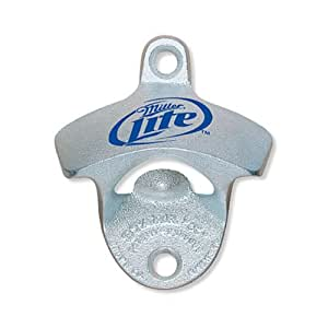 miller lite starr x bottle opener kitchen dining. Black Bedroom Furniture Sets. Home Design Ideas