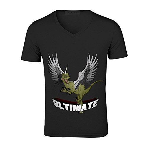 Chas Ultimate Funny Men V Neck Cotton Tee Black (Southern Marsh Decal compare prices)