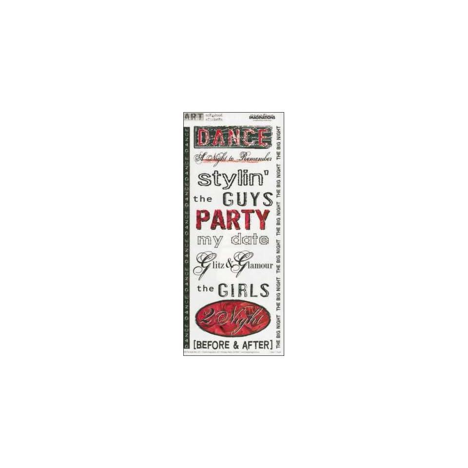 Prom Dance Art Warehouse Scrapbook Stickers (11550)