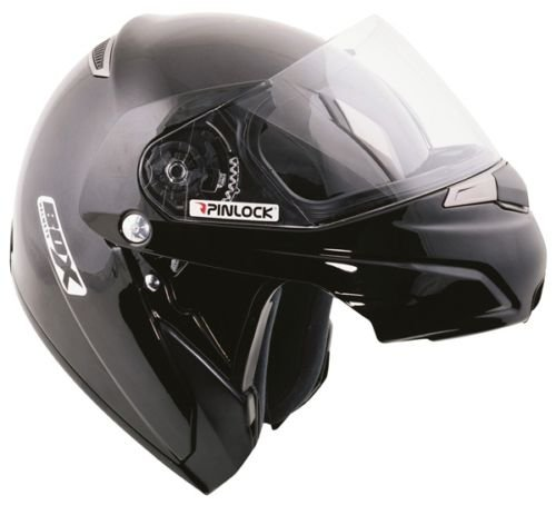 OXFORD SZ-1 FLIP FRONT SCOOTER MOTORCYCLE HELMET, WHITE, X-LARGE