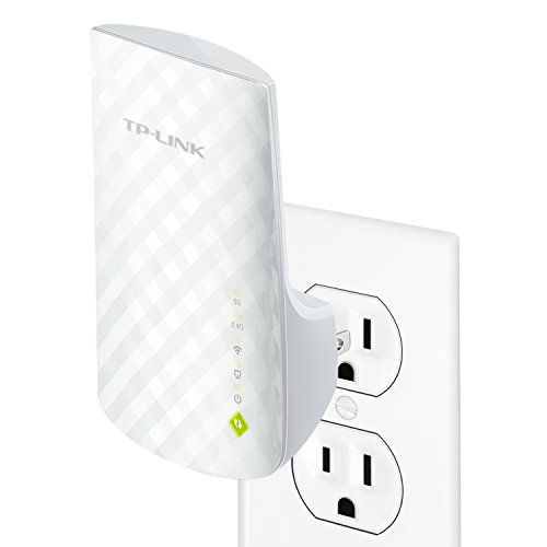 TP-Link AC750 Dual Band Wi-Fi Range Extender (RE200) (Dual Band Range Extender Repeater compare prices)