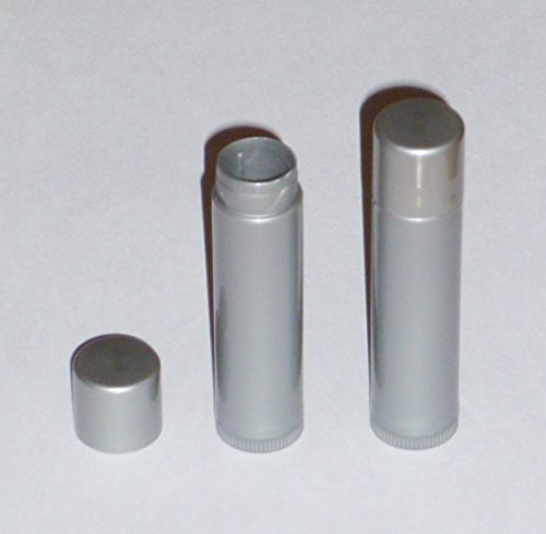 100-new-empty-dark-silver-lip-balm-chapstick-tubes-containers-15-oz-5-ml-tube-make-your-own-chapstic