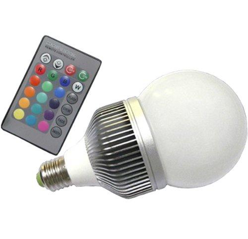 Wandafull 10W Led Light E27 With Remote Control Color Changing Light Bulb With Remote 16 Color Energy Saving
