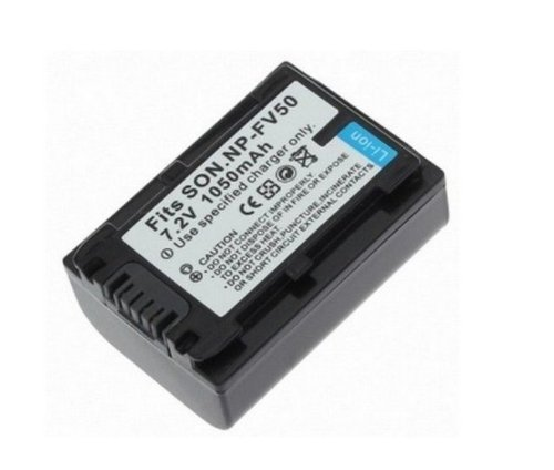 Rechargeable Lithium-Ion Battery Pack For Sony Np-Fv30, Np-Fv50 Infolithium V Series 1050Mah