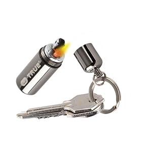 True Utility FIRE STASH KEYRING - Mini Petrol Lighter