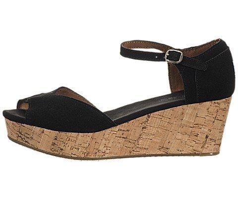 TOMS Women's Platform Wedges Sandal