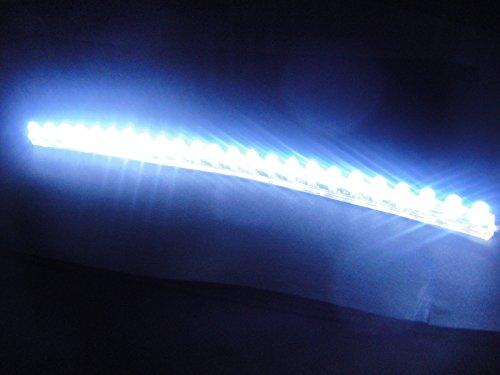 24個24cmホワイト白LEDシリコンチューブ