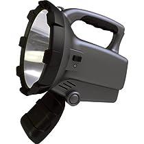 Sunforce Rechargeable LED Spotlight with CREE Bulb - 800 Lumen, 10 Watt, Model# 77807