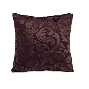 Eggplant Purple Throw Pillows : Amazon.com - 13