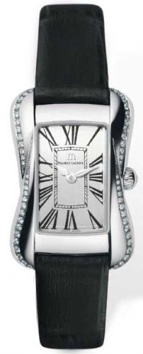 Maurice Lacroix Women's Stainless Steel Divina Watch With Diamonds