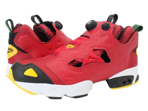 [リーボック]Reebok PUMP FURY RED/BLCK/YELLW/WHT/GR